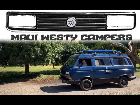 Renting a Westfalia in Hawaii with Maui Westy Campers