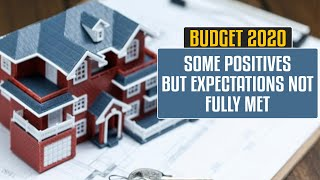 Budget 2020: Budget falls short of real estate's expectations