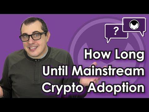 Bitcoin Q&A: How long until mainstream adoption?