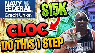 Navy Federal Credit Union | How To Get $15k Navy Federal Personal Checking Line of Credit?