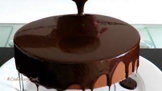 [SUB] Шоколадная ЗЕРКАЛЬНАЯ #ГЛАЗУРЬ #ГЛЯССАЖ Chocolate mirror glaze làm socola phủ bánh làm glaze(Как приготовить красивую шоколадную зеркальную глазурь #ГЛЯССАЖ для украшения современных тортов. #ЗЕРКАЛ..., 2016-07-21T02:30:01.000Z)
