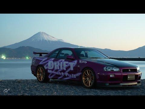 GT 首都高バトル Shutoko Battle Mt Fuji GTR R34
