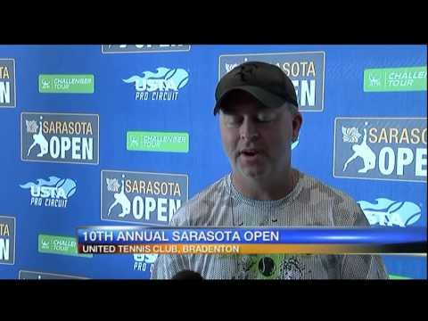 Sarasota Open attracts tennis players from all over the world