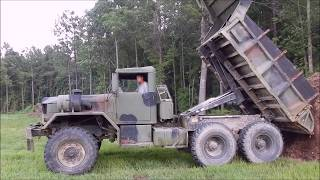 Fixing The Army Truck