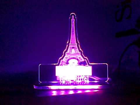 hiasan lampu unik lampu hias akrilik   youtube
