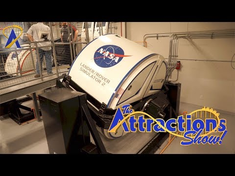 The Attractions Show! - NASA Astronaut Training; Foot Golf at Disney; latest news