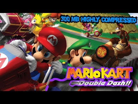 HOW TO DOWNLOAD MARIO KART DOUBLE DASH IN PC !300 MB