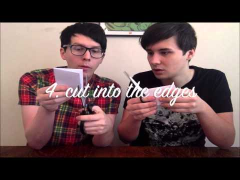 Danandphilcrafts squareflakes youtube for Don t cry craft