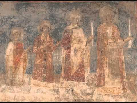 Valeriy Kikta - Frescoes of St. Sophia of Kyiv (1974) - parts 2, 3, 4