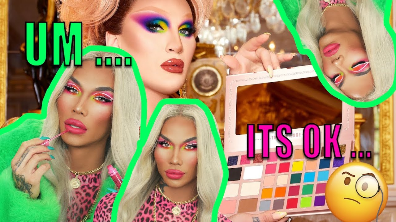 FIRST IMPRESSION & GIVEAWAY - BPERFECT COSMETICS X THE VIVIENNE SCEPTER PALETTE | Kimora Blac