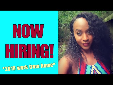 NEW Work From Home Jobs For 2019... Best Western, Apple & More!