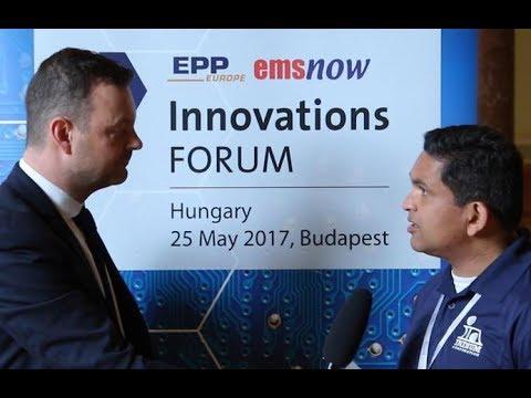 Interview with Karthik Vijay, Technical Manager, Indium Corporationat InnovationsFORUM Hungary 2017