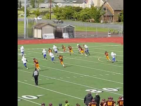 Sumner Middle School Interception Versus Thunder Mountain Middle School
