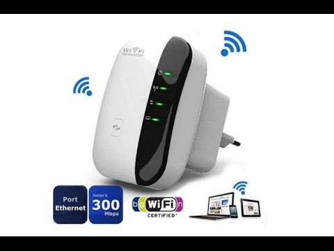 Беспроводной репитер WiFi 802.11 n/b/g 300 Мбит - YouTube