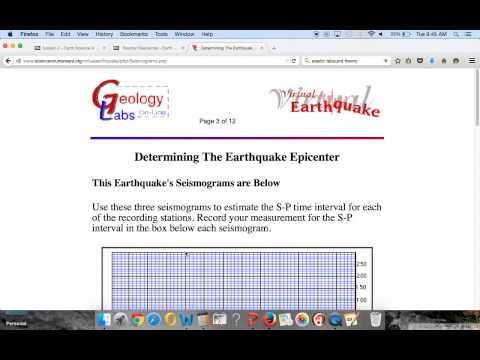 Science courseware earthquake answers