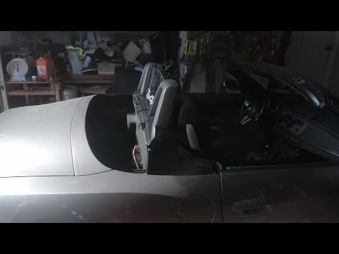 Extensive Bmw Z4 Soft Top Repair Information Youtube