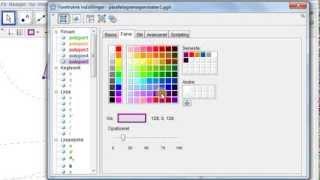 Ændring af farver og stil
