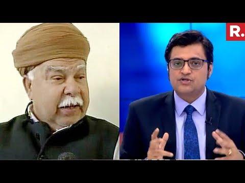 Karni Sena Chief Lokendra Singh Kalvi Speaks To Arnab Goswami | The Debate With Arnab Goswami