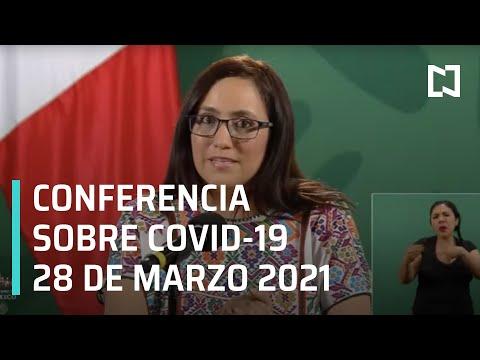 Informe diario Covid-19 en Vivo - 28 de marzo 2021