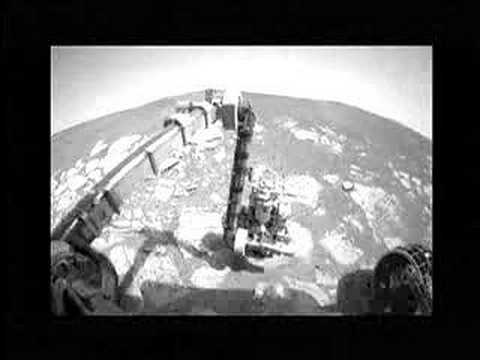 Mars Opportunity Rover in action