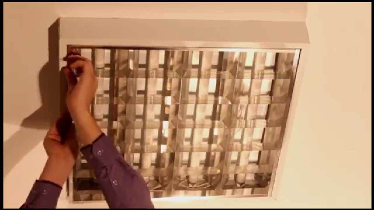 Монтаж комплекта серии LST светильника Армстронг