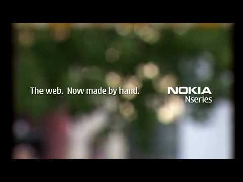 Nokia N79 GSM CELL PHONE PROMO DEMO ADVERTISMENT COMMERCIAL AD