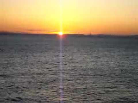 初日の出 2009年 海辺