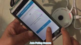 How to Install SACAM Fisheye WiFi Camera with App  IPC360