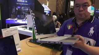 Gigabyte AERO series 2019  AERO 15 OLED, AERO 17 4K, AERO 15 Classic