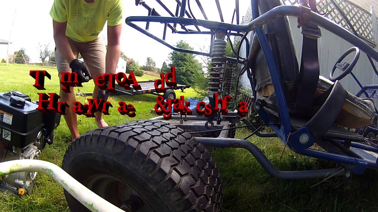 Repeat Off Road Rally Kart 301cc predator upgrade by Mac_RacingKarts