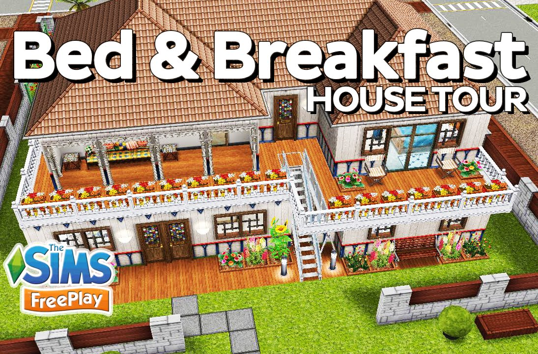 The sims freeplay bed and breakfast original design for Bed and breakfast design