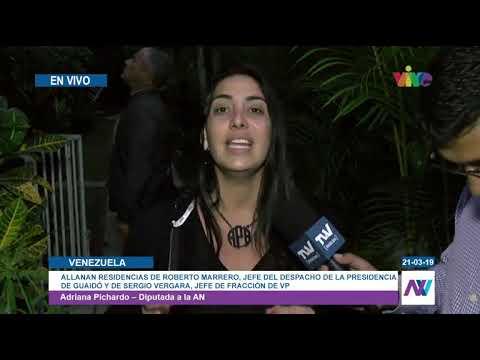 Diputada Adriana Pichardo denunció robo de vehículos de Roberto Marrero