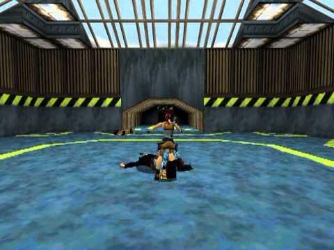 Tomb Raider 2 Walkthrough - Diving Area