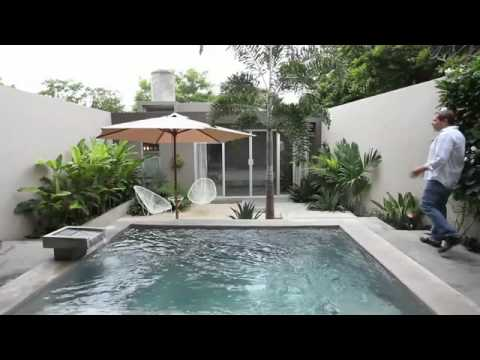 Yucatan Living - Merida House Video  Affordable Modern