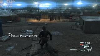 Metal Gear Solid V: Ground Zeroes PC Gameplay - i5 4440 / Gtx 750 1gb