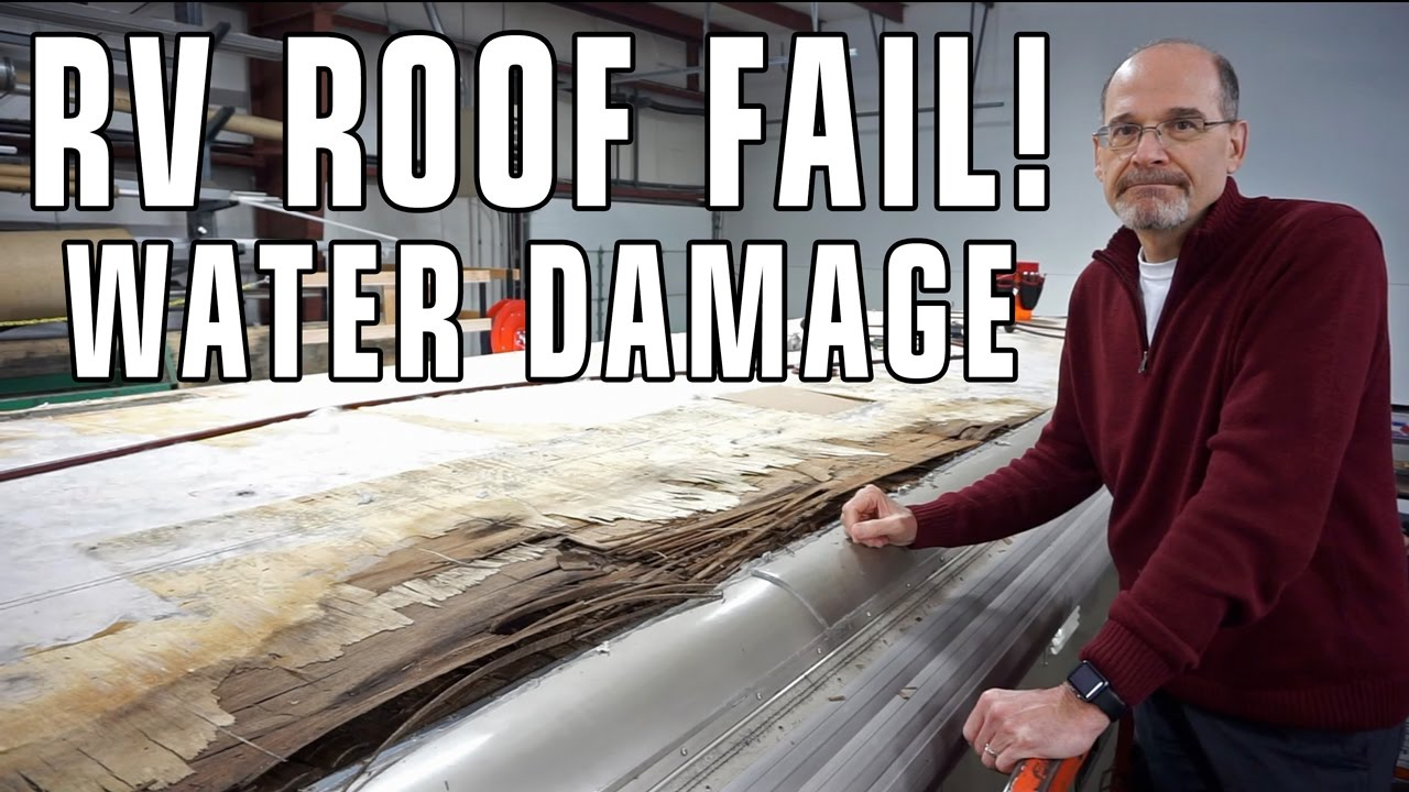 Rv Roof Leak Fail Amp Water Damage Inspect Your Dicor