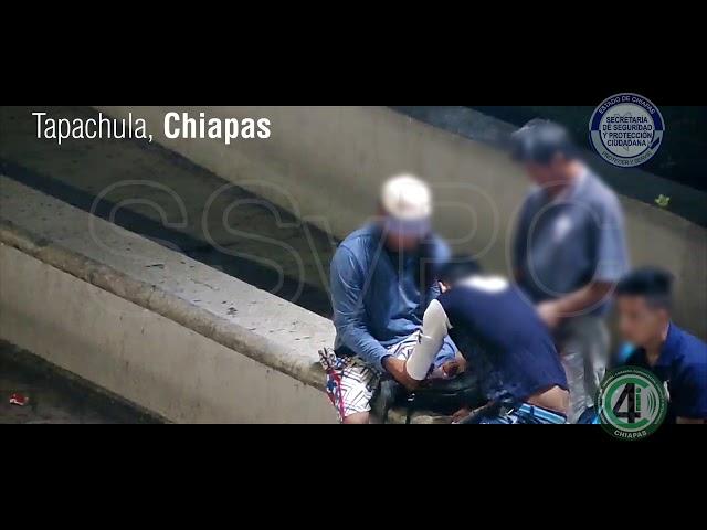 SSyPC mediante cámaras de vigilancia atienden denuncias sobre consumo de drogas