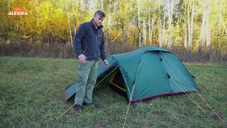 Alexika Nakra - обзор туристической палатки