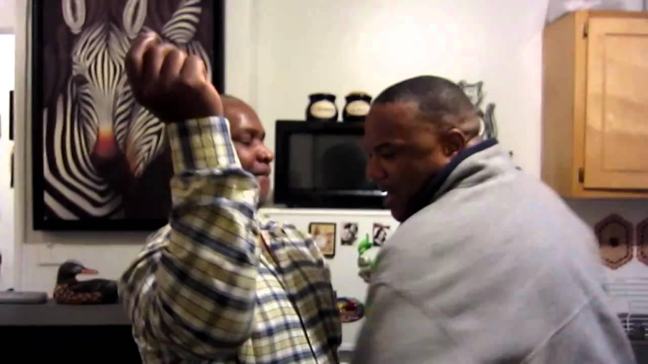 Gay Black Men Dance At Bronx Xmas Party