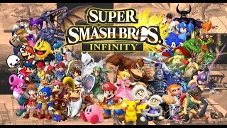 All Super Smash Bros Infinite 2.5 Characters