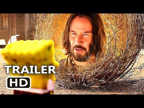 THE SPONGEBOB Movie 3 Trailer (2020) Keanu Reeves, Sponge on the Run