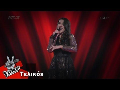 Λεμονιά Μπέζα - L'amour est un Oiseau Rebelle   Τελικός   The Voice of Greece