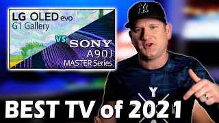 Sony A90J vs LG G1 OLED - Best TV of 2021