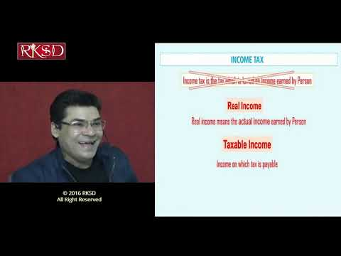 Indian income tax basic concepts