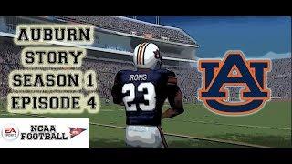 NCAA Football 07 - Auburn Story - Bo Jackson Recruiting Cam Newton?