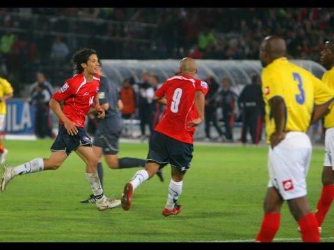 Chile 4 - 0 Colombia | Eliminatorias Sudáfrica 2010 | 8º Fecha