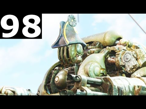 Fallout 4 Walkthrough Gameplay Part 98 - Last Voyage Of The U.S.S. Constitution (Broadsider)