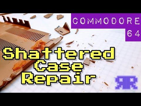 4/6: Commodore Music Maker Refurb - Shattered Case Repair