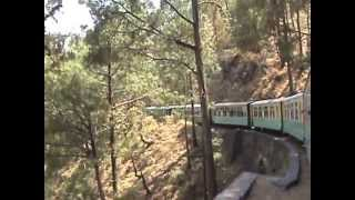 KALKA TO SHIMLA TOY TRAIN JOURNEY ON 17TH MAY
