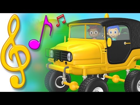 TuTiTu Songs   Jeep Song   Songs for Children with Lyrics